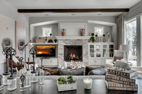 traditional living room 1